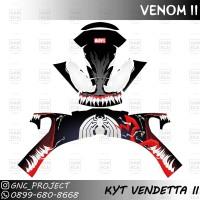 Sticker Decal Helm Venom II For KYT Vendetta II