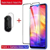 Deso Case 9D Tempered Glass Xiaomi Redmi Note 8 Pro + TG Lensa Camera