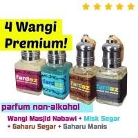 Paket Parfum PRIA WANITA Fardaz Minyak Wangi Masjid Nabawi + Misk +Oud