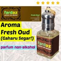 Parfum PRIA (Minyak Wangi) Gaharu Segar - Fardaz Fresh Oud