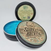 POMADE STARTLEY BREWING STRONG HOLD WATERBASED 100GR FREE CLUTCH BAG