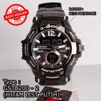 TERMURAH !! G Shock Besi Metal GSTB-200 Jam tangan digital pria & anak