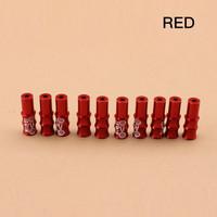 End cup outer kabel Rem warna merah red per 1 pcs sepeda gowes