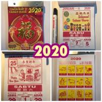 Kalender 2020 - Kalender China Harian Sobek Ukuran Sedang