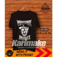 Kaos Baju Band Metal Vengeance University Kaos Musik - Karimake