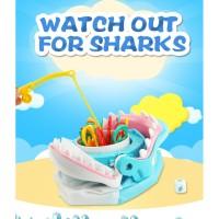 [LOGU] Mainan happy shark, mainan pancing ikan di mulut hiu, happy