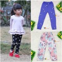 Legging Calvina uk 8-12 tahun / Bahan Kaos Anak Spandek Motif Leging