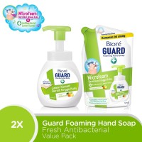 Biore Hand Soap Fresh Antiseptic Value Pack
