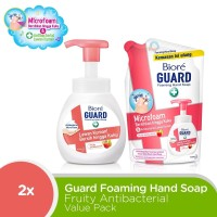 Biore Hand Soap Fruity Antiseptic Value Pack