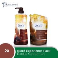 Biore Shower Wonder Set - Exotic Cinnamon