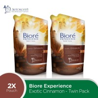 Biore Body Foam Exotic Cinnamon 425mL Twinpack