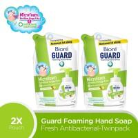 Biore Hand Soap Fresh Antiseptic Refill Duo