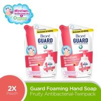 Biore Hand Soap Fruity Antiseptic Refill Duo