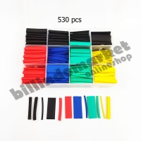 Heat Shrink Tubing Cable Sleeve Wire Wrap Kit 530 Pcs Include BOX