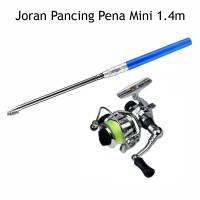 Joran Pancing Pena Mini 1.4m + Reel Spinning XM100 / Pancingan Mini