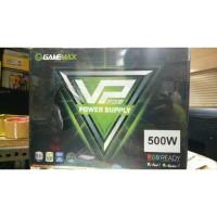 GAMEMAX PSU VP500 RGB - 500 Watt 80+ Effeciency 80% 12cm Fan RGB