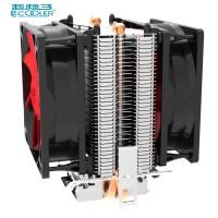 PcCooler Mini CPU Heatsink 2 Heatpipe 2 Fan Cooler 80mm - HS115