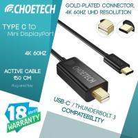 Type C to Mini DisplayPort Active 4K 60Hz CHOETECH XCM-1501