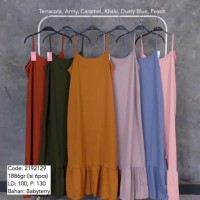 Gamis Overall Ruffle / Overall Rempel / Gamis Kodok Baby Terry