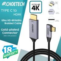 Type C to HDMI Braided converter Thunderbolt 3 CHOETECH XCH-1803