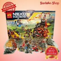 LEGO LELE NEXO JETROS EVIL MOBILE 79240