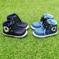 Sepatu boot Anak / Bahan Denim / Kids