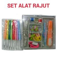 Set Alat Rajut - Crochet Hook - Knitting Tool - Jarum Rajut