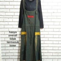 OVERALL BAHAN SOFT JEANS