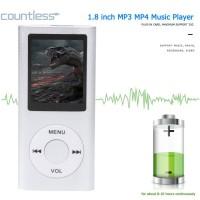Cou 4th Gen 1.8 inch LCD Screen MP3 MP4 Music Player FM Radio E-Book