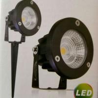 Kingled Lampu Sorot Taman Tancap LED 5W 220V White & Warm White