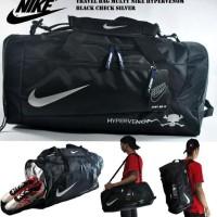 . Top Travel Bag Nike Hypervenom Hitam Lis Silver Tas Travel Nike