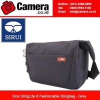 SIRUI SLINGLITE 8 FASHIONABLE SLINGBAG - GREY / TAS KAMERA MURAH
