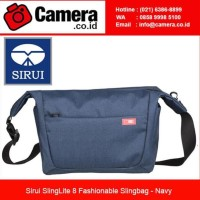 SIRUI SLINGLITE 8 FASHIONABLE SLINGBAG - NAVY / TAS KAMERA MURAH