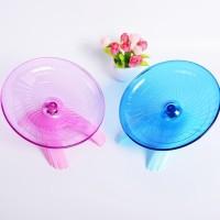 Hamster Mouse Exercise Wheel Running Flying Saucer Pet Toys Silent
