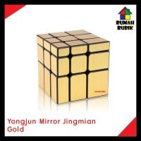rubik mirror magic cube gold ( kemasan plastik )
