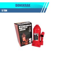 Dongkrak Botol 5 Ton Hydraulic Jack Dongkrak Mobil