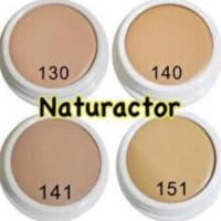 Foundation Naturactor cover face ori jepang share in jar - tiga nol