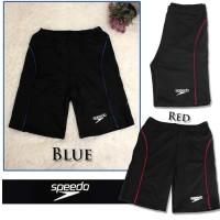Celana renang dewasa speedo list - Lis Merah, XL
