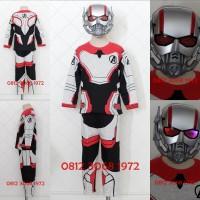 Topeng NYALA Baju Kostum Anak Superhero Antman Ant Man AVENGER QUANTUM