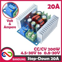 DC-DC STEP DOWN CA CC ADJUSTABLE BUCK CONVERTER POWER SUPPLY 20A 300W