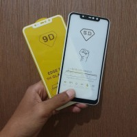 Tempered Glass Full Cover Redmi 6 Pro Hitam Putih