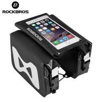 Rockbros Tas Sepeda Frame Bag Smartphone Pannier 6.2 Inch - AS-042