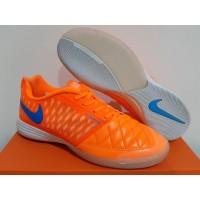 Sepatu Futsal Nike Lunar Gato II Atomic Orange Gamma Blue White