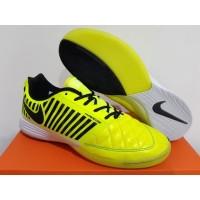 Sepatu Futsal Nike Lunar Gato II Volt Black White