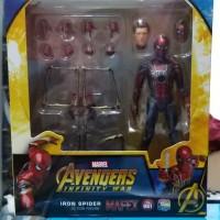 Mafex Iron Spider BIB