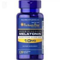 Puritans Pride Super Strength Melatonin 10mg 120s Untuk Tidur Nyenyak