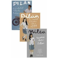 Paket 3 Novel Dilan 1 Dilan 2 Milea - Pidi Baiq
