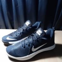 Sepatu Basket Nike Fly By Low Black White Original