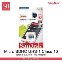 Sandisk Micro SD Class 10 - 64Gb - No Adaptor MicroSD ultra