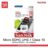 Sandisk Micro SD Class 10 - 16Gb - No Adaptor MicroSD ultra Sandisk Mi